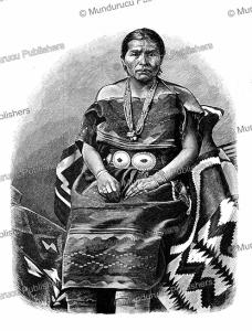 A Navaho Indian, Rudolf Cronau, 1903 | Photos and Images | Digital Art