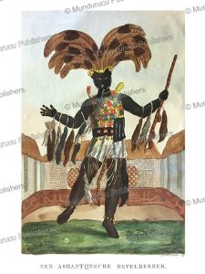 Ashanti or Asante chief, Ghana, T.E. Bowdich, 1820 | Photos and Images | Digital Art