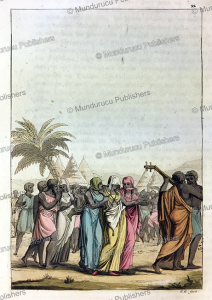 Marriage ceremony on the Island of Saint-Louis, Senegal, Gallo Gallina, 1819 | Photos and Images | Digital Art