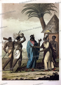 Dress of the people of the Island of Saint-Louis, Senegal, Angelo Biasioli, 1819 | Photos and Images | Digital Art