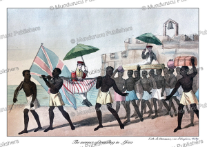the manner of traveling in africa, william hutton, 1823
