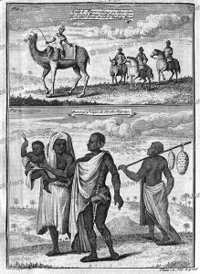 Arabs and Moors and Negroes of Cape Verde, Thomas Astley, 1746 | Photos and Images | Digital Art