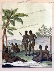 Natives of Cape Verde, coast of Northwest Africa, G. Bigatti, 1815 | Photos and Images | Digital Art
