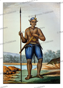 Fulani man of Senegambia, David Boilat, 1853 | Photos and Images | Digital Art