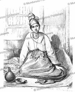Signara, a coloured woman with high social standing, Senegambia (Senegal and Gambia), Benoit Henri Darondeau, 1890 | Photos and Images | Digital Art
