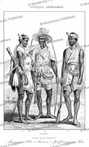 Mandinka and Bambara people of Senegambia (Senegal and Gambia), Lemaitre, 1848 | Photos and Images | Digital Art