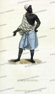 Madingo (Madinka) man of Senegambia (French Guinea), 1821   Photos and Images   Digital Art