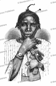 Bambara Negro, West Africa, Oskar Lenz, 1884 | Photos and Images | Digital Art