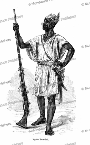 Ngolo Traoue´re´, a slave trader of Douabougou, Mali, Camile Pietri, 1885 | Photos and Images | Digital Art