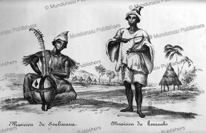 soulimana musicians, alexander gordon laing, 1822