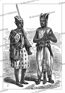 fante volunteers or warriors of ghana, henry morton stanley, 1874