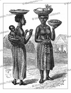 fante women of ghana, henry morton stanley, 1874