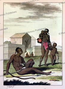 Inhabitants of Annobo´n or Pagalu´ Island, Equatorial Guinea, Gaetano Zancon, 1815 | Photos and Images | Digital Art