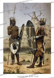 Niam-niam (Zande) warrior, Richard Buchta, 1894 | Photos and Images | Digital Art