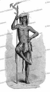 A Niam-niam chief, Georg Schweinfurth, 1878 | Photos and Images | Digital Art