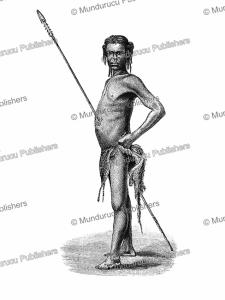 A Niam-niam warrior, Georg Schweinfurth, 1878 | Photos and Images | Digital Art