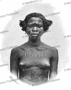 A Niam-niam woman, H. Thiriat, 1893 | Photos and Images | Digital Art