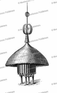 Niam-niam (Azande) granary, Paul Philippoteaux, 1873   Photos and Images   Digital Art