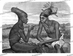 Netolu and Bunza, Central Africa, Oscar-Pierre Mathieu, 1873 | Photos and Images | Digital Art