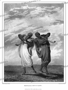Mandara or Wandala musicians, Cameroon, Major Denham, 1826 | Photos and Images | Digital Art