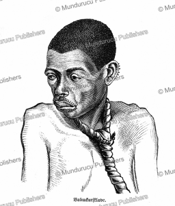 a babuckur slave, central africa, georg schweinfurth, 1878