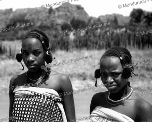 Two Fulani girls with traditional face tattoos, Riom, Nigeria, T.A.M. Nash, 1951 | Photos and Images | Digital Art