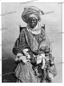Mohammedan merchant of the Yoruba tribe, Nigeria, H. Thiriat, 1887 | Photos and Images | Digital Art