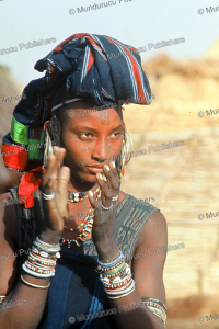 Wodaabe woman with face tattoos from Nigeria | Photos and Images | Digital Art