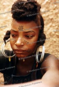 Bororo woman with face tattoos, Nigeria, Jan van Teeffelen | Photos and Images | Digital Art