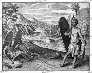 savage people living in congo, theodoor de bry, 1609