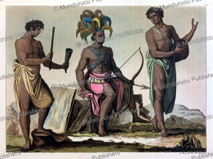Soldiers of the king of Congo, Angelo Biasioli, 1819 | Photos and Images | Digital Art