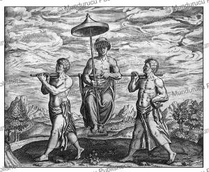 Manner of transport int the Congo, Theodoor de Bry, 1609 | Photos and Images | Digital Art