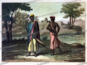 Dress of the nobles of the Kingdom of Congo, Gallo Gallina, 1819 | Photos and Images | Digital Art