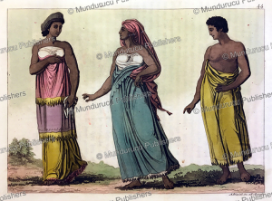 The dress of women of Congo, Angelo Biasioli, 1819 | Photos and Images | Digital Art
