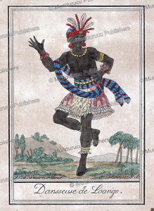 Danseuse from Loango, Congo, Labrousse, 1792 | Photos and Images | Digital Art