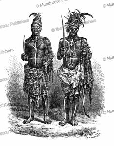 sorcerers of the loango coast, congo, gustav mu¨tzel, 1885