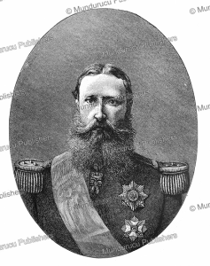Leopold II (1835-1909), King of Belgium and owner of Congo, Henry Stanley, 1885 | Photos and Images | Digital Art