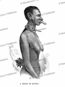 a beauty of bavira or the vira tribe in congo, henry morton stanley, 1890