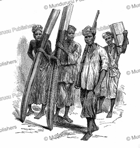 Ivory hunters in Congo, Henry Stanley, 1885 | Photos and Images | Digital Art