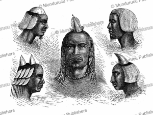 Heads of Manyema man, Congo, Verney Lovett Cameron, 1877 | Photos and Images | Digital Art