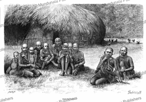 Young El kwafi (Wakwafi) girls, Maasai, Y. Pranishnikoff, 1885 | Photos and Images | Digital Art