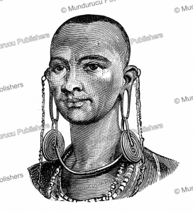 Ear-ornament for married Maasai women, Joseph Thomson, 1885 | Photos and Images | Digital Art