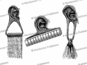 Maasai ear stretchers for women, Joseph Thomson, 1885 | Photos and Images | Digital Art