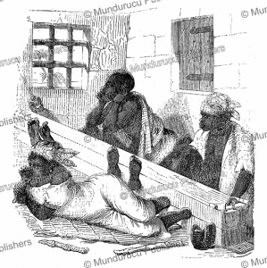 Black slaves waiting before boarded, L'Illustration, 1843 | Photos and Images | Digital Art