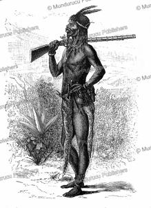 Slave trader near Lake Shirwa, Mozambique, Livingstone, 1887 | Photos and Images | Digital Art