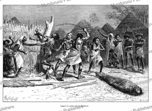 Punishment of slaves of the Mombelines by whipping and salt, Somalia, Y. Pranishnikoff, 1885 | Photos and Images | Digital Art