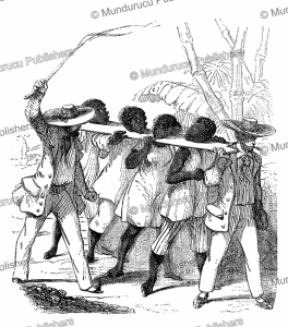Black slaves on their way to the coast, L'Illustration, 1843   Photos and Images   Digital Art