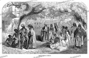 Slave market at Mascate, Oman, L'Illustration, 1849 | Photos and Images | Digital Art