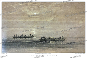 the albert nyanza or lake albert, uganda, samuel baker, 1866