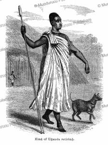 The King of Uganda retiring, John Hanning Speke, 1863 | Photos and Images | Digital Art